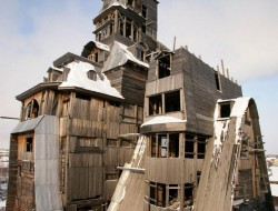 Wooden Gagster House - Archangelsk, Russia