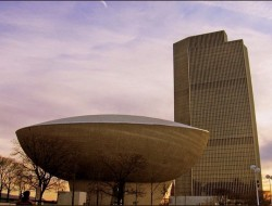 The Egg, Empire State Plaza - New York, USA