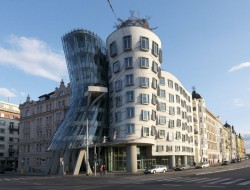 Dancing Building by Frank Gehry - Prague, Czech Republic