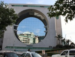 Calakmul Building Or La Lavadora (The Washing Machine) - Mexico