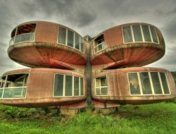 The Ufo House - Sanjhih, Taiwan