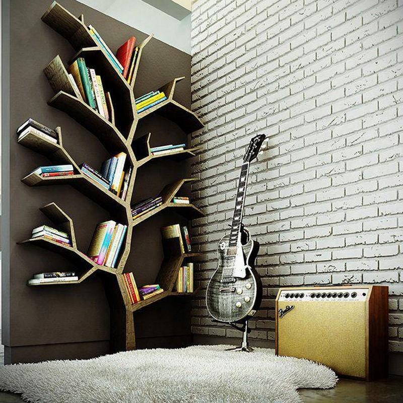 Tree Bookshelf - Girl In Air