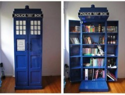Tardis Bookshelf - The Owner-Builder Network