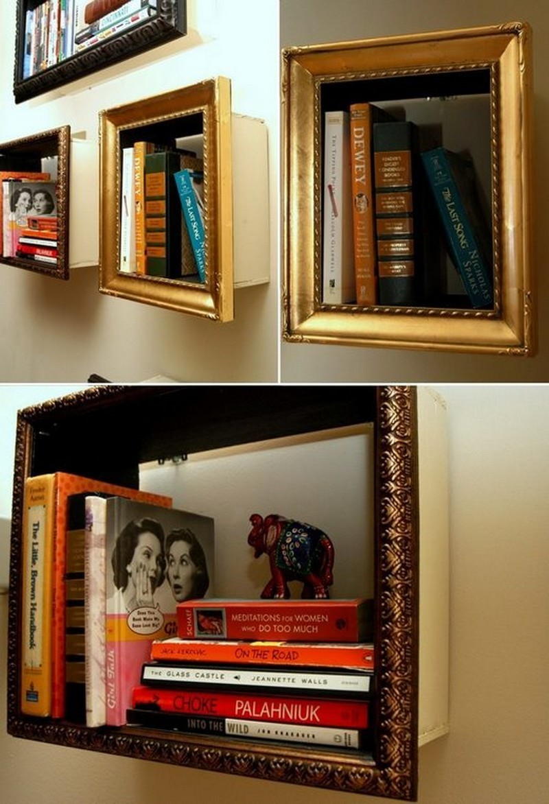 Unique bookshelves for your home the owner builder network for Ideas for book shelves