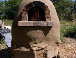 DIY Cob Pizza Oven
