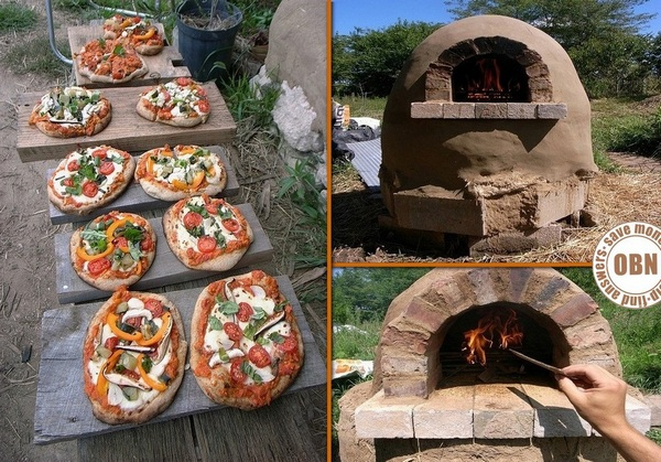 DIY Cob Pizza Oven