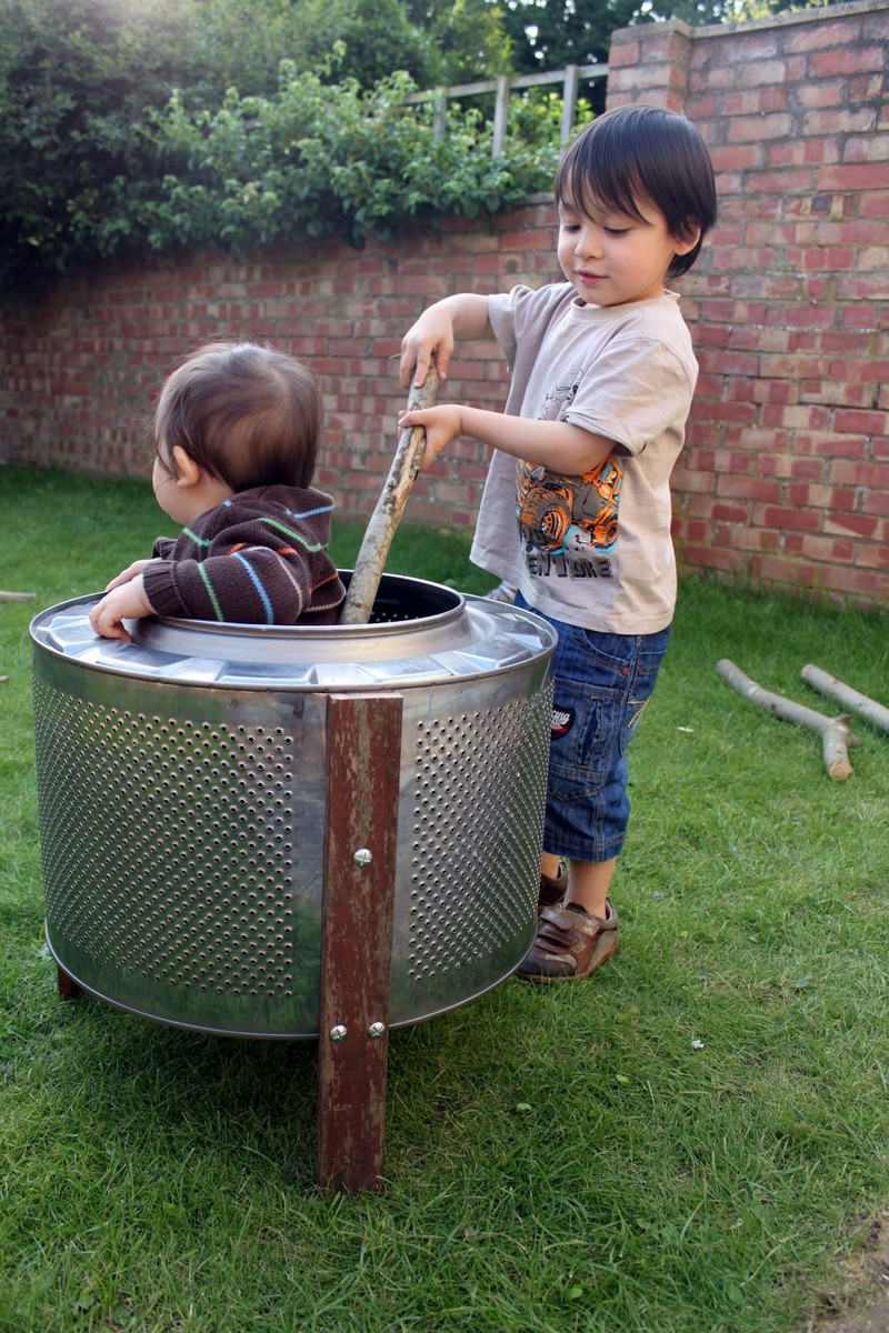 From washing machine to fire pit | The Owner-Builder Network