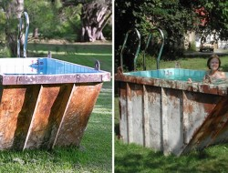 Dumpster Mini Pool - Louisa Dawson