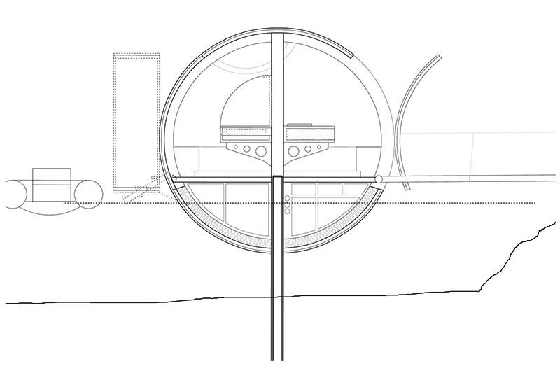 Floating Egg-Shaped Office - Plan 3