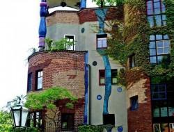 Hundertwasser House by Friedensreich Hundertwasser Vienna