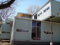 Kansas City's New Cargo Container House - Kansas City, Missouri