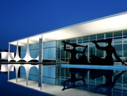 Palacio Alvorada - Brasilia, Brazil
