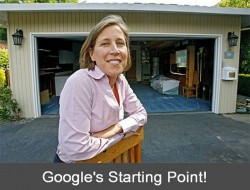 Take an idea, some enthusiasm, almost no money and a rented garage and emerge as the leading mover and shaker in the connected world. Larry Page and Sergey Brin, the original founders, bought this property as an 8th anniversary memento.