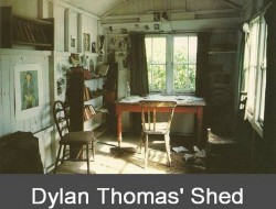 Dylan Thoma's Shed