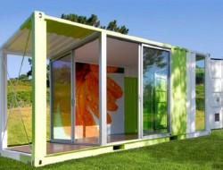 Shipping Container Garden Room