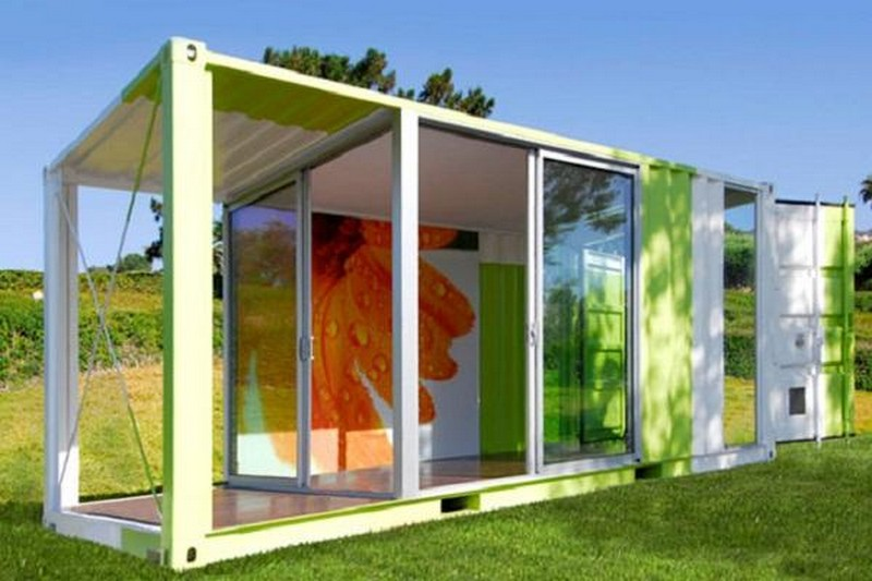 Shipping Container Garden Room