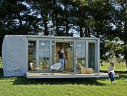 Shipping Container Weekender