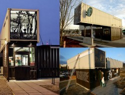 Shipping Container Store - Starbucks