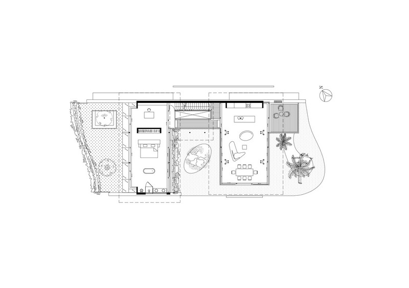 The Fish House - First Floor Plan