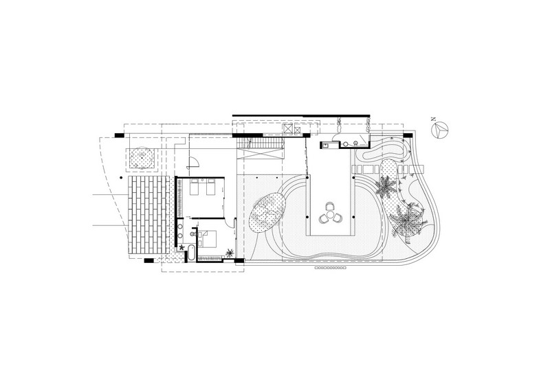 The Fish House - Second Floor Plan