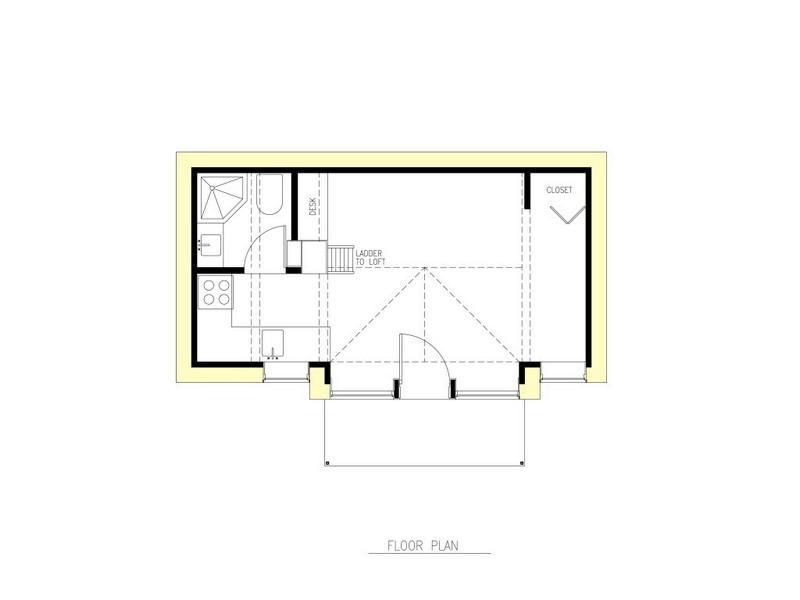 The Mini-B - The Mini-B - Floor Plan