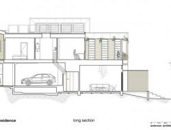 Waverley Residence - Long Section