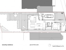 Waverley Residence - Ground Floor Plan