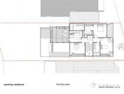 Waverley Residence - First Floor Plan