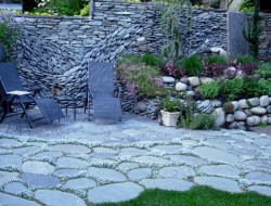 Ancient Art of Stone - Garden wall