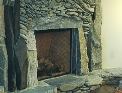 Fireplace by Anreas Kunert - The Ancient Art of Stone