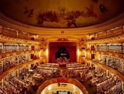 A theatre converted to a bookstore - Buenos Aires Argentina