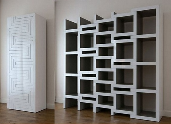 Unique Bookshelves For Your Home