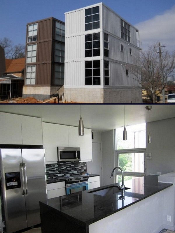 Container homes in Atlanta. Shipping Container Garden Room