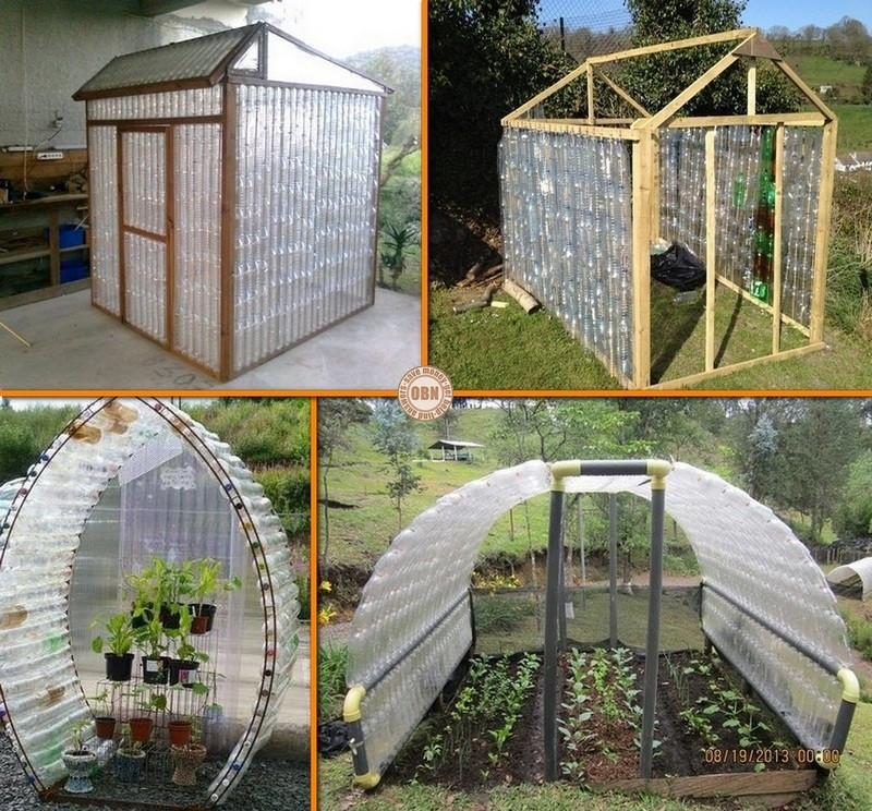 Clever ways to recycle plastic bottles the owner builder for Materials to make a greenhouse