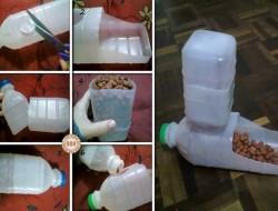 Plastic Bottle Pet Feeder - The Owner-Build Network