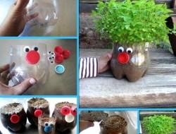 Plastic Bottle Planters - Ideas2live4