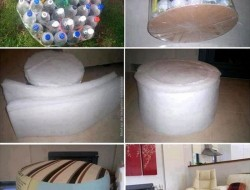 Plastic Bottle Ottoman - Rofl Lol Wow OMG