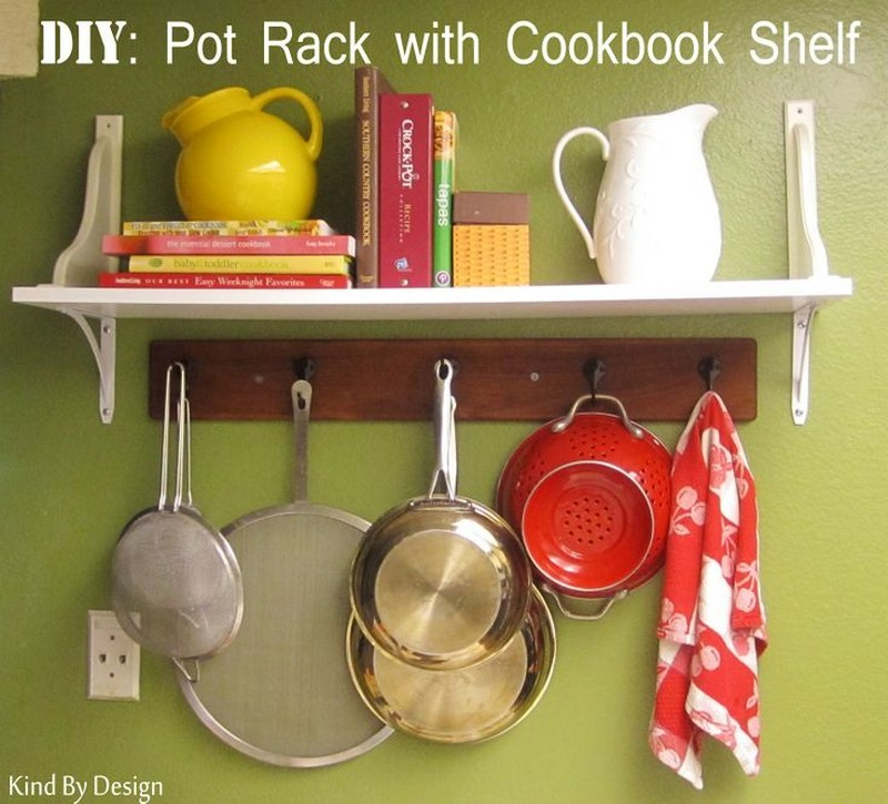 Diy Kitchen Shelf Ideas