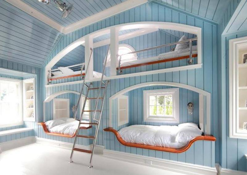 When freinds or family come to stay! Sure, the top bunks are hard to make, but...