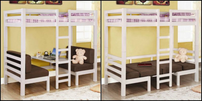 Convertible Loft Bunk Bed