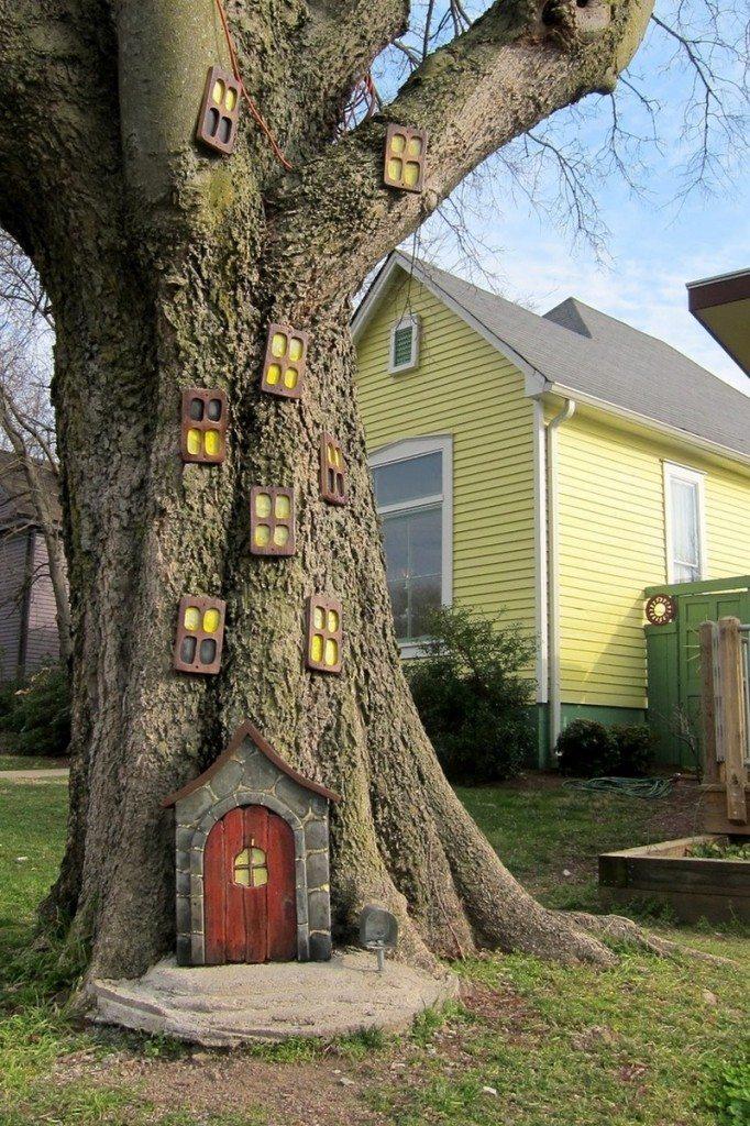 Fairy Door For Trees