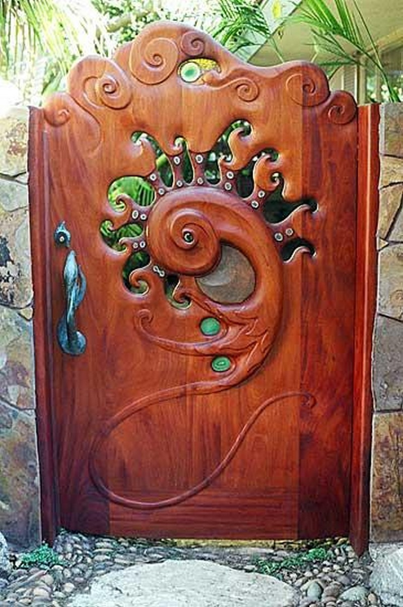 Wooden Gate And Whimsical Designs | Joy Studio Design ...