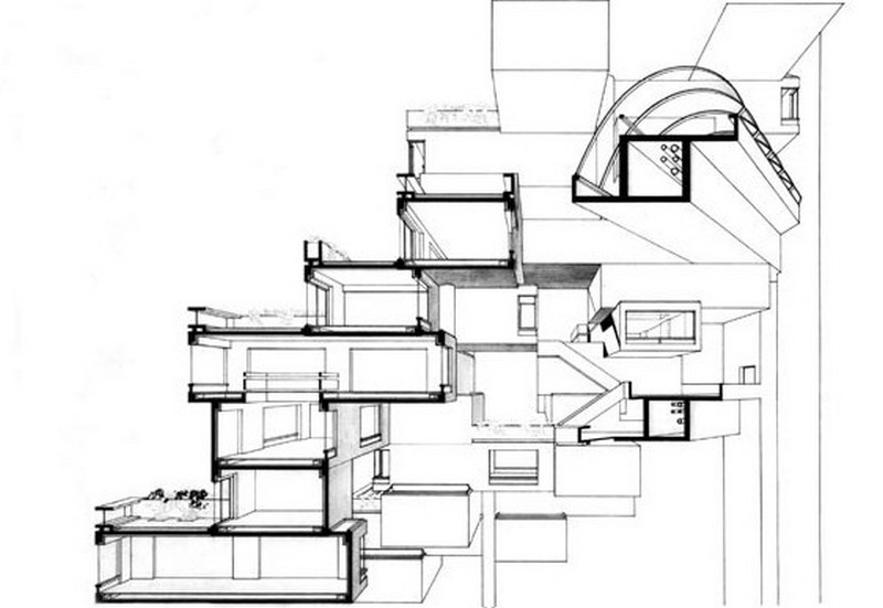 Habitat 67 - Plan 2