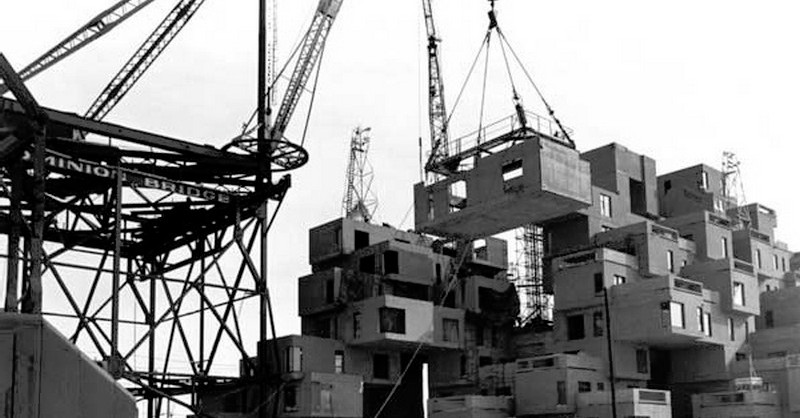 Habitat 67 - a design principle decades ahead of the market...
