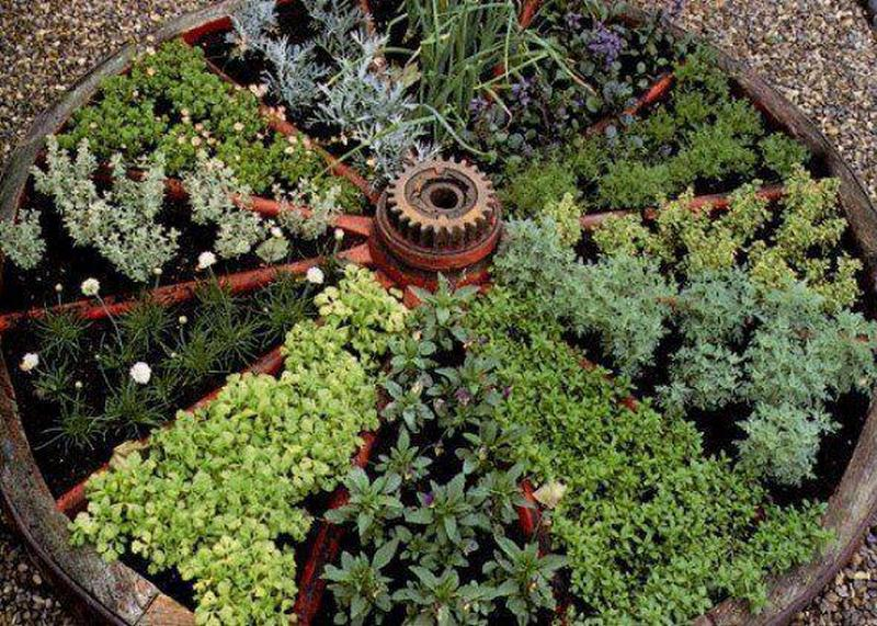 Container herb gardens and other herb garden ideas | The Owner ...