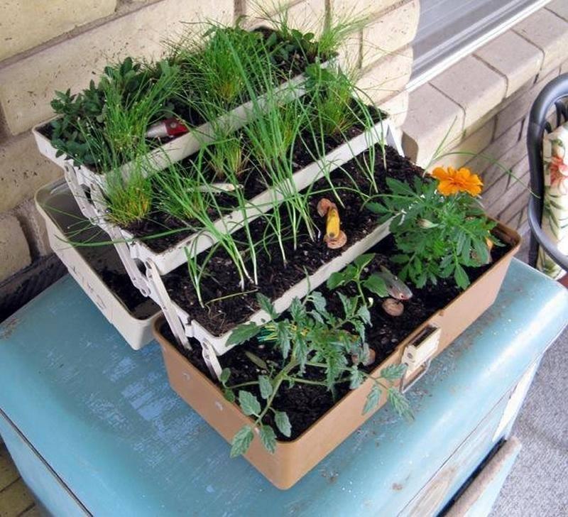 Tackle Box Planter - Makezine