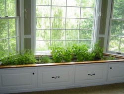 Window Seat Planter - GR Baker Construction
