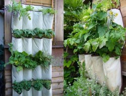 Hanging Shoe Storage Vertical Planter - The Owner-Builder Network