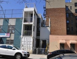 Shipping Container Home by Architect Michelle Bertomen and contractor David Boyle - Williamsburg, Brooklyn, New York