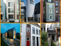 There are narrow homes and then there are NARROW homes.